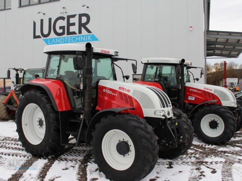 Traktor des Typs Steyr 6150 CVT Profi, Gebrauchtmaschine in Niederkappel (Bild 1)