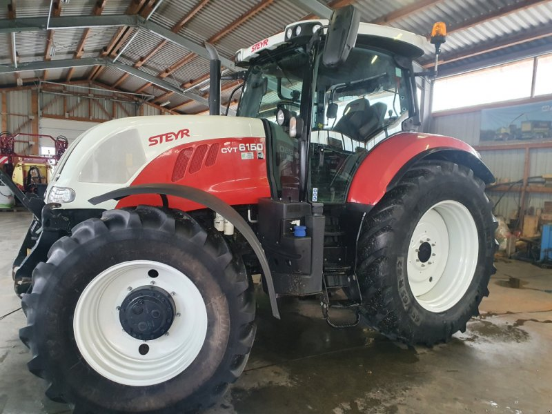 Traktor des Typs Steyr 6150 CVT, Gebrauchtmaschine in Sauldorf (Bild 1)