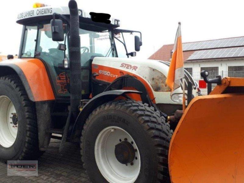 Traktor des Typs Steyr 6150 CVT, Gebrauchtmaschine in Chieming (Bild 1)