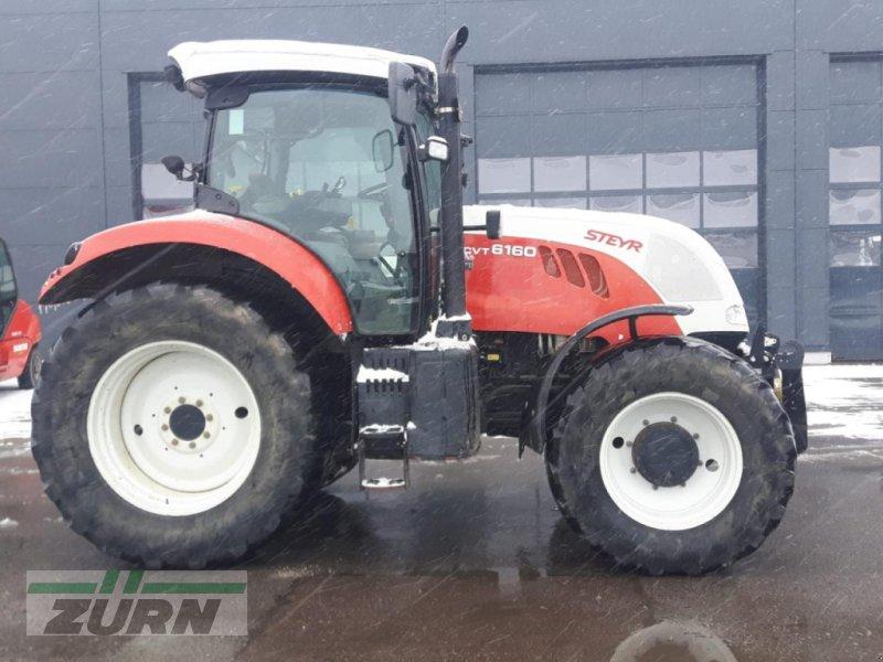 Traktor a típus Steyr 6160 CVT, Neumaschine ekkor: Schoental-Westernhausen (Kép 1)