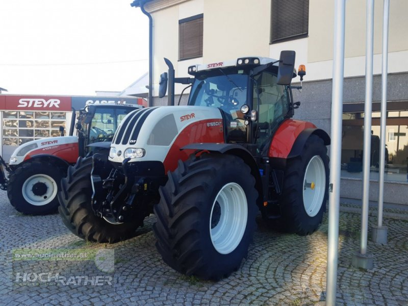 Traktor des Typs Steyr 6165 CVT Hi-eSCR Profi, Neumaschine in Kronstorf (Bild 1)