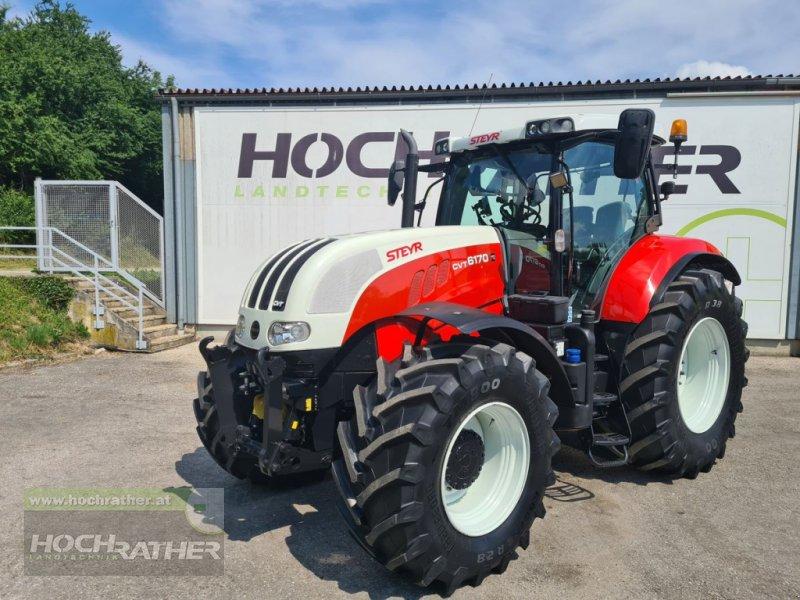 Traktor des Typs Steyr 6170 CVT Profimodell, Gebrauchtmaschine in Kronstorf (Bild 1)