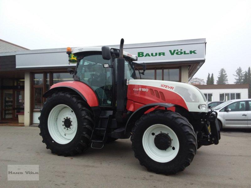 Traktor des Typs Steyr 6180 CVT, Gebrauchtmaschine in Schwabmünchen (Bild 1)