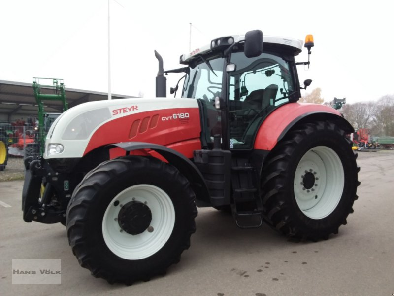 Traktor des Typs Steyr 6180 CVT, Gebrauchtmaschine in Schwabmünchen (Bild 3)