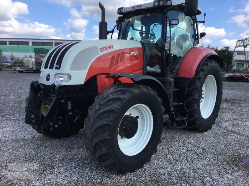 Traktor des Typs Steyr 6180 CVT, Gebrauchtmaschine in Eggenfelden (Bild 7)