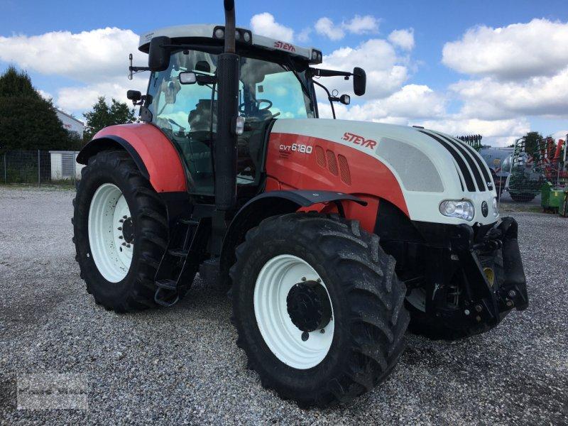 Traktor des Typs Steyr 6180 CVT, Gebrauchtmaschine in Eggenfelden (Bild 1)