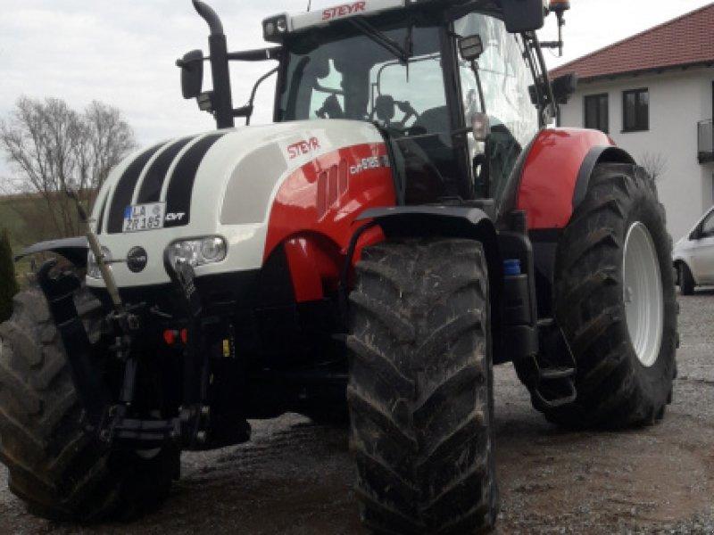 Traktor des Typs Steyr 6185 CVT mit GPS (RTK), Gebrauchtmaschine in Geisenhausen (Bild 1)