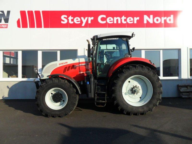 Traktor des Typs Steyr 6185 CVT Profi, Gebrauchtmaschine in Harmannsdorf-Rückersdorf (Bild 1)