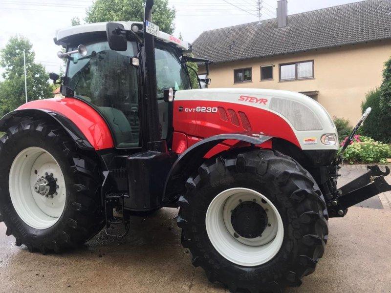 Traktor des Typs Steyr 6185 CVT, Gebrauchtmaschine in Wittighausen (Bild 1)