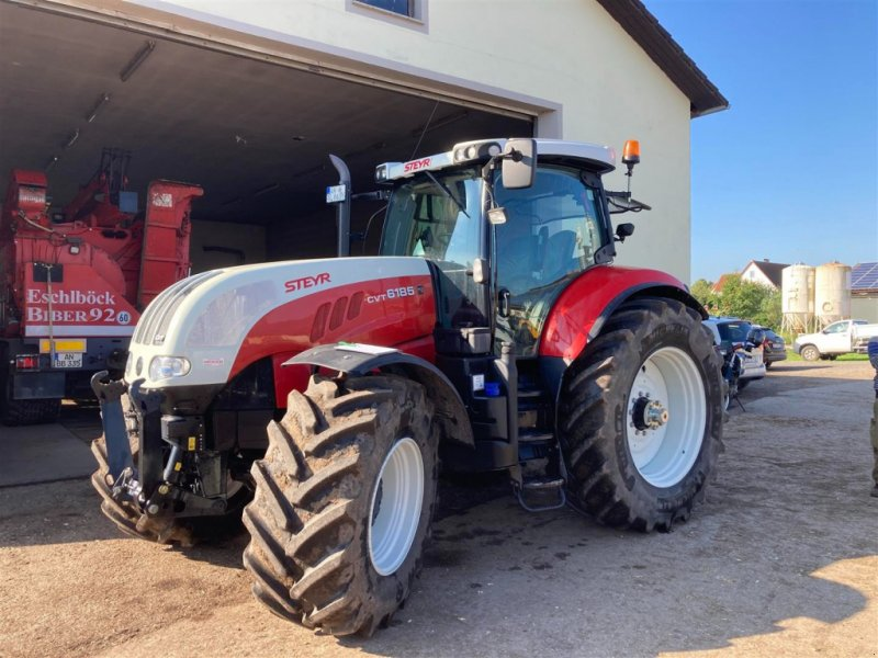 Traktor типа Steyr 6185 CVT, Gebrauchtmaschine в Ansbach (Фотография 1)