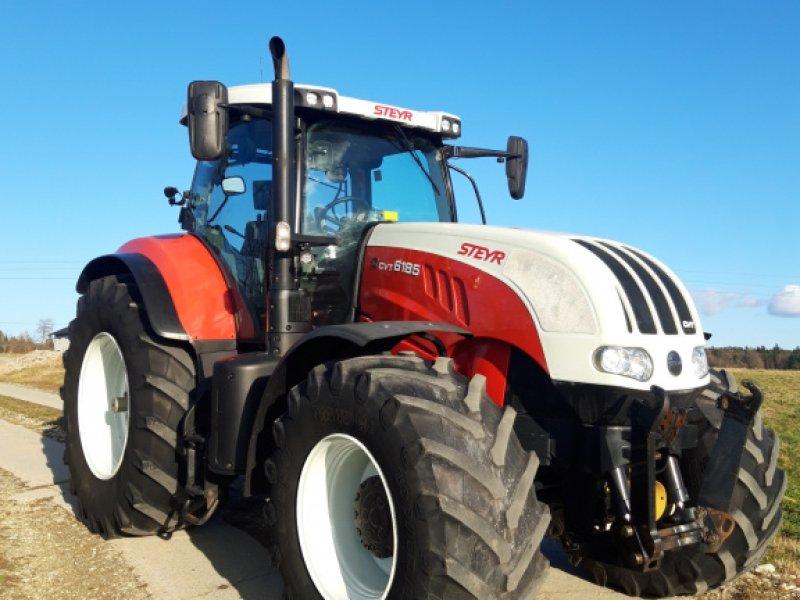 Traktor des Typs Steyr 6185 CVT, Gebrauchtmaschine in Kirchheim (Bild 1)