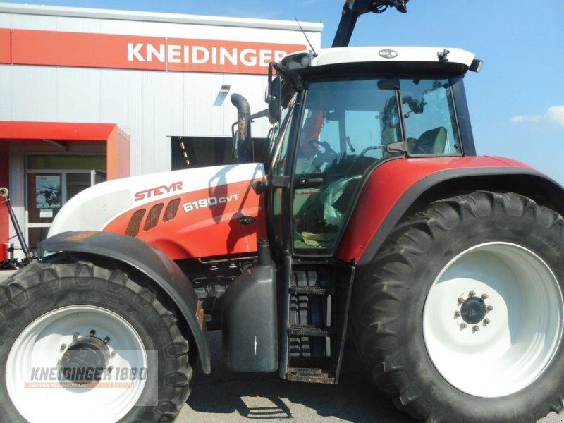 Traktor des Typs Steyr 6190 CVT Profimodell, Gebrauchtmaschine in Altenfelden (Bild 1)