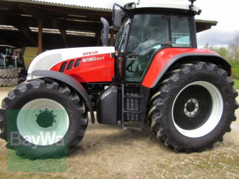 Traktor des Typs Steyr 6190 CVT, Gebrauchtmaschine in Erbach (Bild 1)