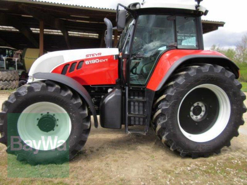 Traktor tip Steyr 6190 CVT, Gebrauchtmaschine in Erbach (Poză 1)