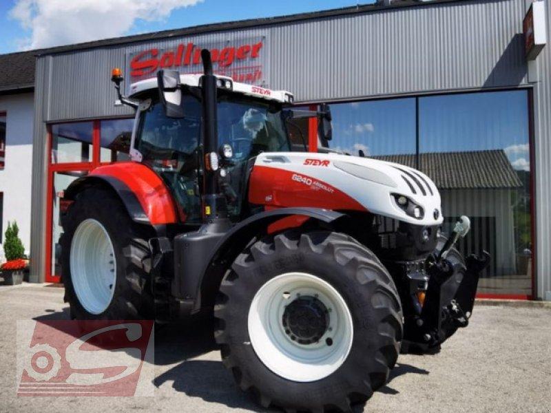 Traktor des Typs Steyr 6240 Absolut CVT, Vorführmaschine in Offenhausen (Bild 1)