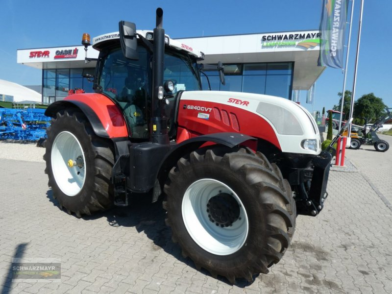 Traktor des Typs Steyr 6240 CVT Hi-eSCR Profi, Neumaschine in Gampern (Bild 1)