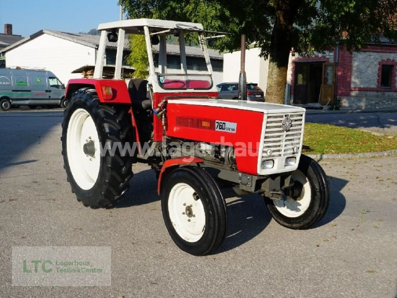 Traktor типа Steyr 760 H, Gebrauchtmaschine в Kirchdorf (Фотография 1)