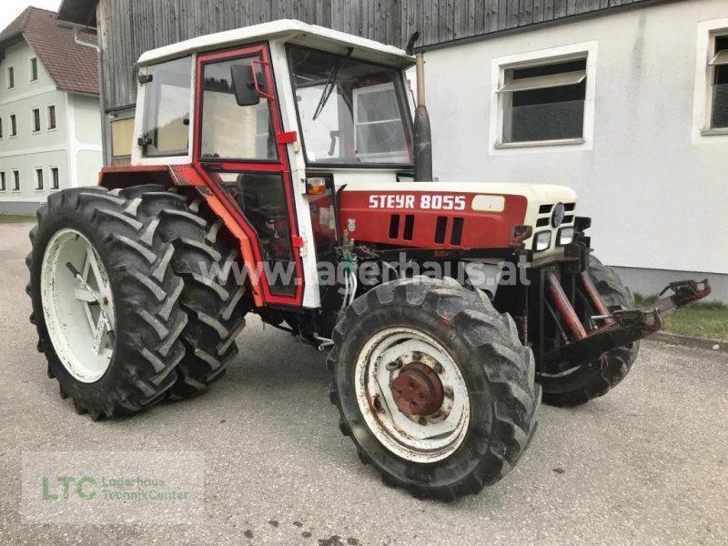 Traktor del tipo Steyr 8055 A, Gebrauchtmaschine en Kirchdorf (Imagen 1)