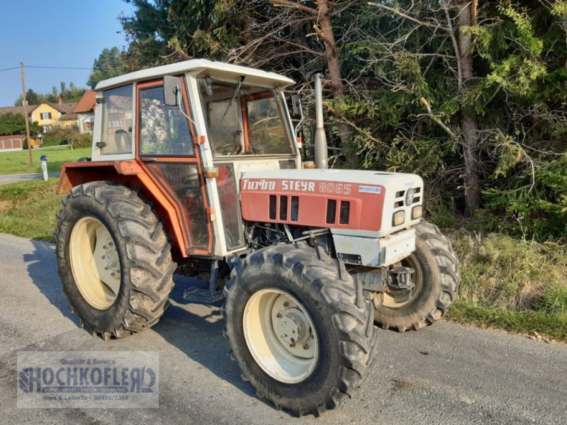 Traktor типа Steyr 8065 A T, Gebrauchtmaschine в Wies (Фотография 1)