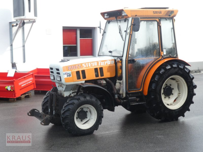 Traktor a típus Steyr 8065 Turbo, Gebrauchtmaschine ekkor: Geiersthal (Kép 1)