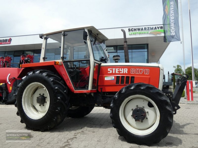 Traktor des Typs Steyr 8070 A FS, Gebrauchtmaschine in Aurolzmünster (Bild 1)