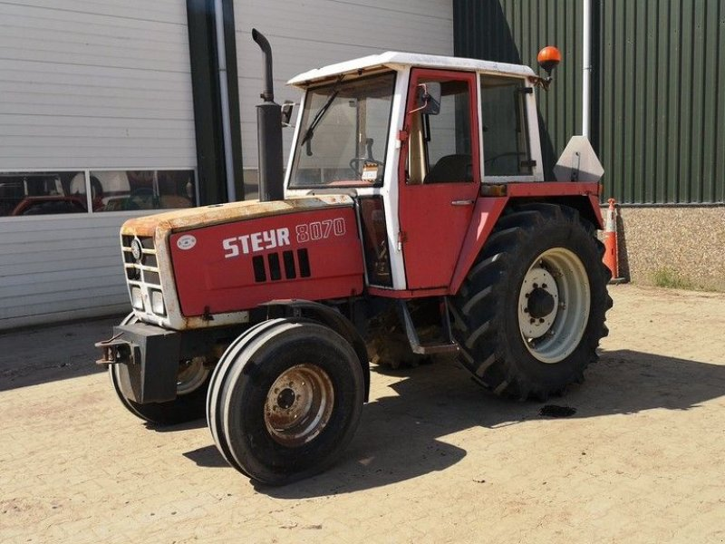 Traktor типа Steyr 8070, Gebrauchtmaschine в Leende (Фотография 1)