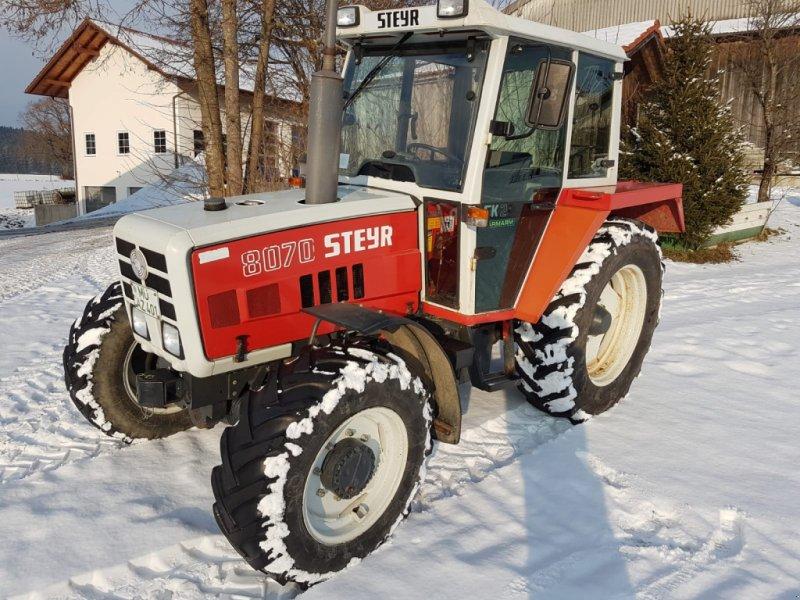 Traktor типа Steyr 8070, Gebrauchtmaschine в Reichertsheim (Фотография 1)