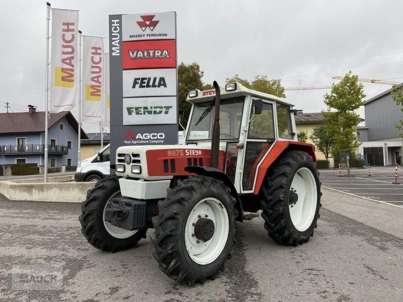 Traktor des Typs Steyr 8075 A, Gebrauchtmaschine in Burgkirchen (Bild 1)