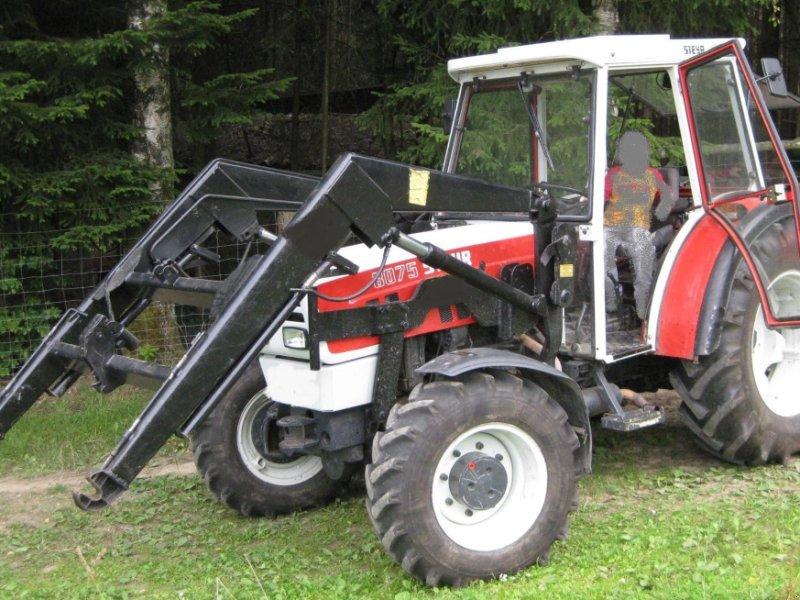 Traktor типа Steyr 8075 AP, Gebrauchtmaschine в Selters-Haintchen (Фотография 1)