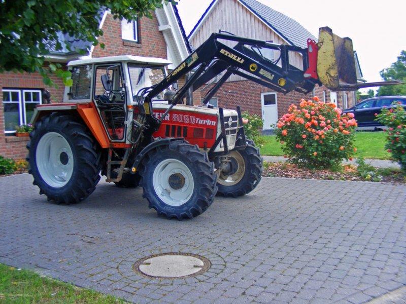 Traktor des Typs Steyr 8080+ Frontlader, Gebrauchtmaschine in Kutenholz (Bild 1)