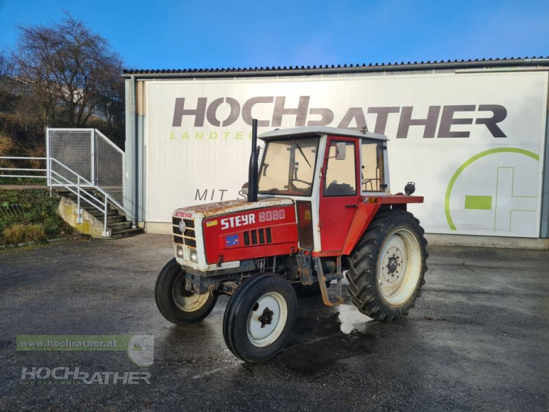 Traktor типа Steyr 8080 SK1, Gebrauchtmaschine в Kronstorf (Фотография 1)
