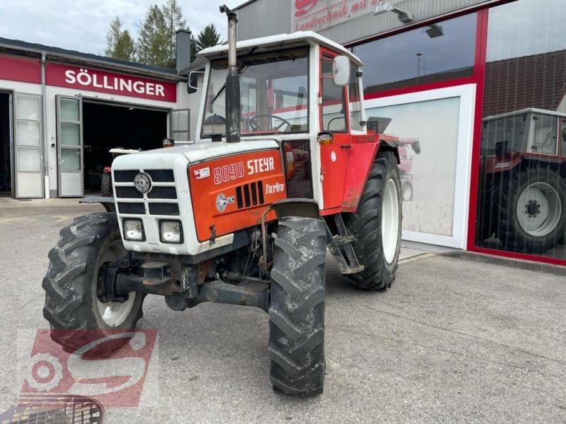 Traktor des Typs Steyr 8090 A T, Gebrauchtmaschine in Offenhausen (Bild 1)