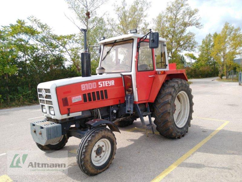 Traktor des Typs Steyr 8100, Gebrauchtmaschine in Wiener Neustadt (Bild 1)