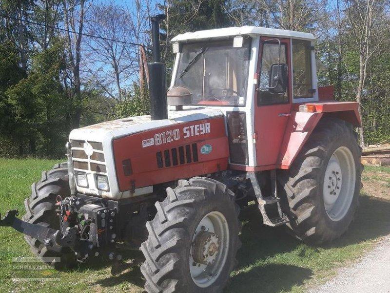 Traktor des Typs Steyr 8120 A, Gebrauchtmaschine in Aurolzmünster (Bild 1)