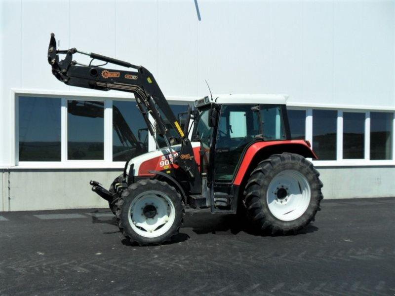 Traktor des Typs Steyr 9086 M A Komfort, Gebrauchtmaschine in Harmannsdorf-Rückersdorf (Bild 1)