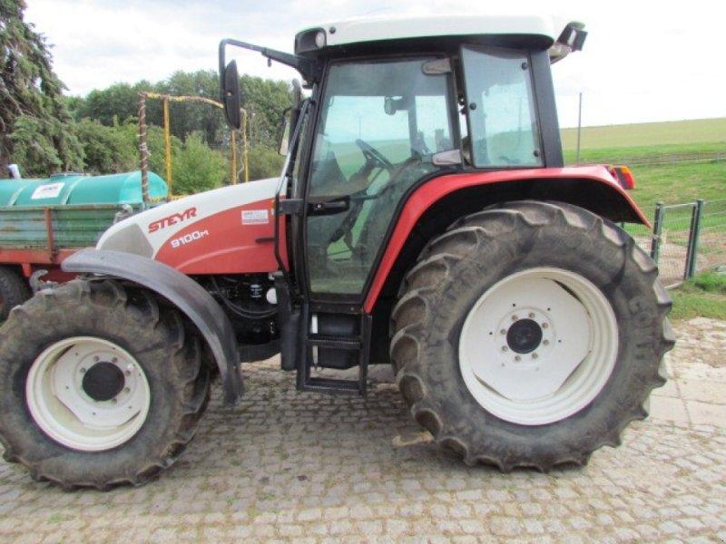 Traktor типа Steyr 9100 M, Gebrauchtmaschine в Meerane (Фотография 1)