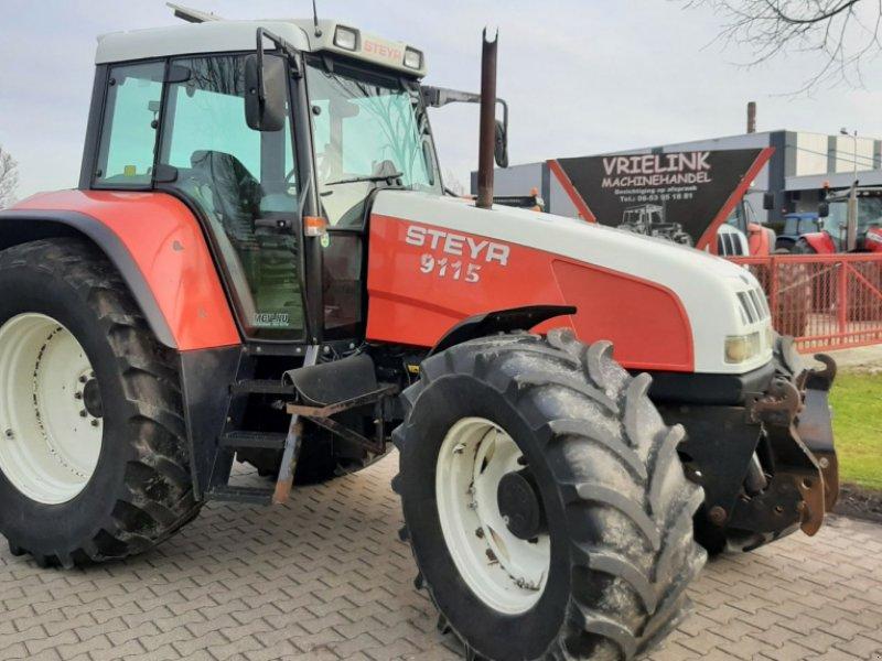 Traktor del tipo Steyr 9115 met Fronthef/PTO en Airco, Gebrauchtmaschine en Schoonebeek (Imagen 1)