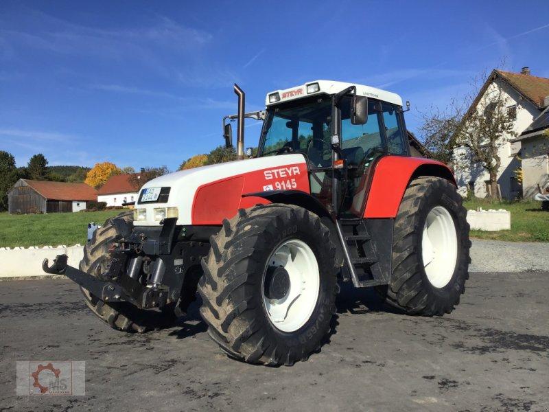 Traktor типа Steyr 9145 Pneumatische Kabinenfederung FH FZW sehr guter Zustand sofort Einsatzbereit, Gebrauchtmaschine в Tiefenbach (Фотография 1)