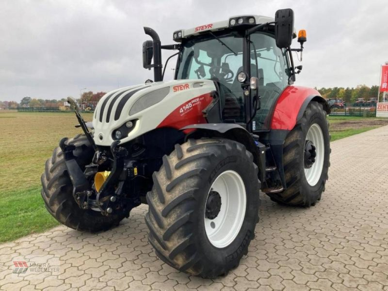 Traktor типа Steyr CVT 4145 PROFI FZW+FKH, LENKSYSTEM, Neumaschine в Oyten (Фотография 1)