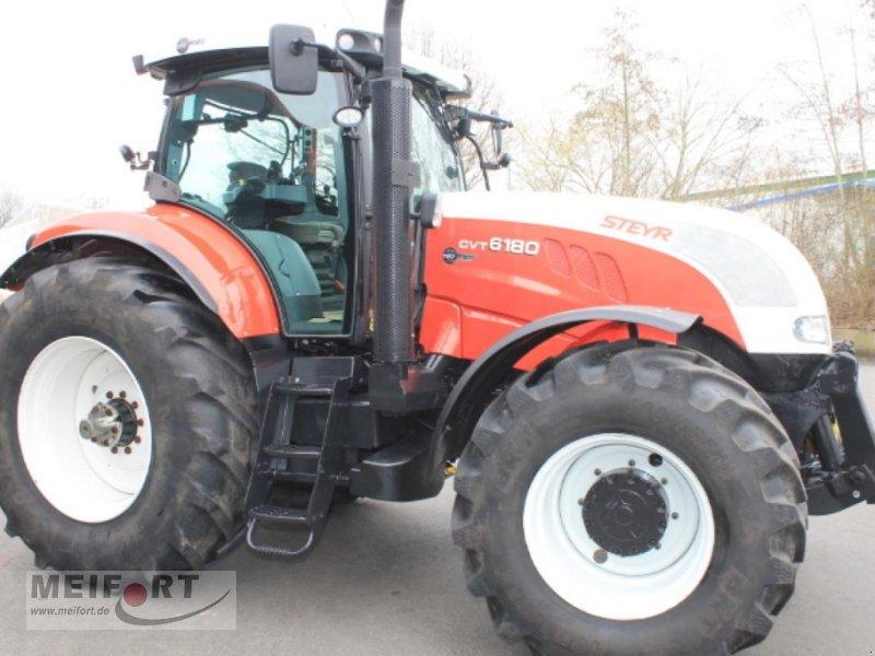 Traktor des Typs Steyr CVT 6180, Gebrauchtmaschine in Daegeling (Bild 1)