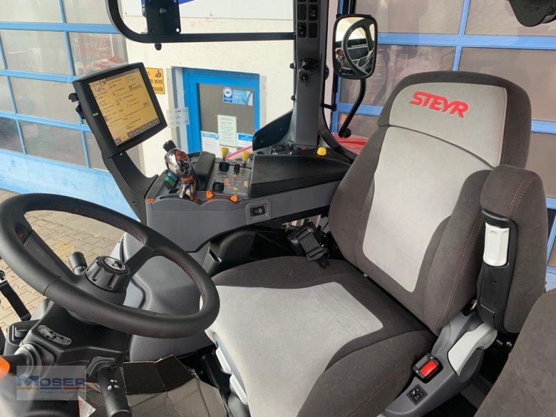 Traktor des Typs Steyr CVT 6185 Stufe V, Neumaschine in Massing (Bild 5)