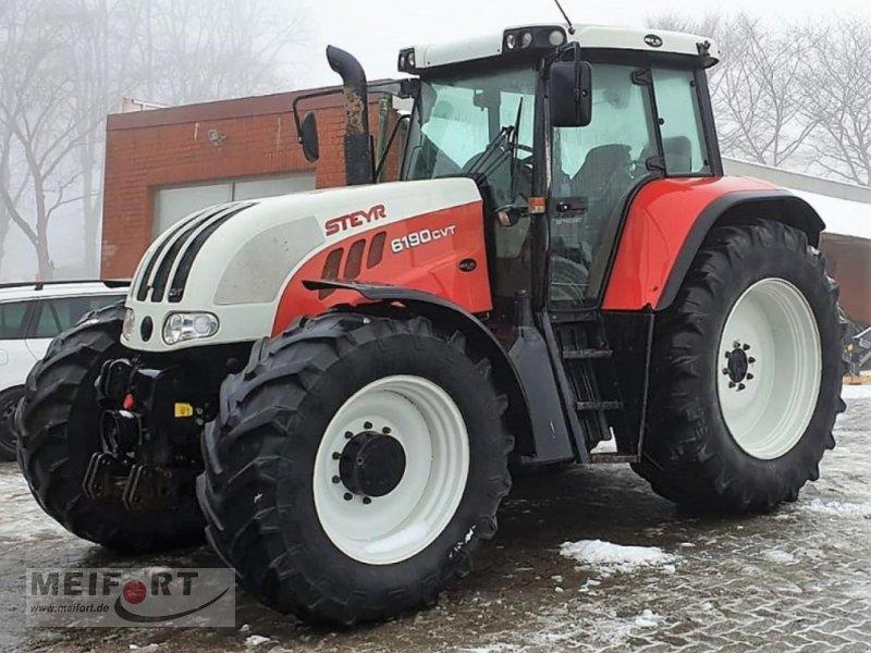 Traktor des Typs Steyr CVT 6190, Gebrauchtmaschine in Fahrenkrug (Bild 1)