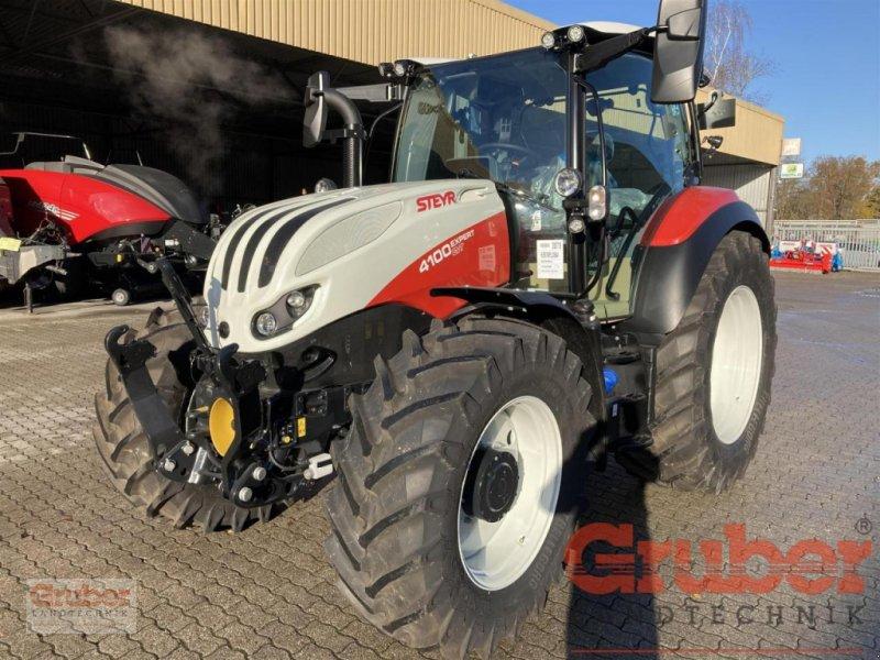 Traktor des Typs Steyr Expert 4100 CVT, Neumaschine in Ampfing (Bild 1)