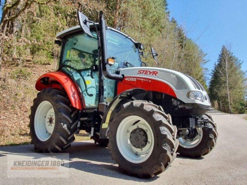 Traktor типа Steyr kompakt 4055s stufe v, Gebrauchtmaschine в ALTENFELDEN (Фотография 1)