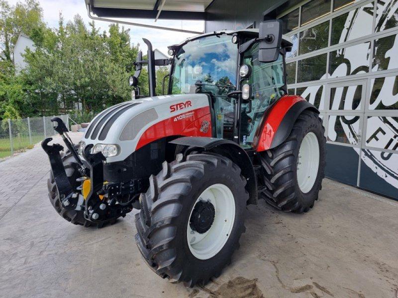Traktor типа Steyr Kompakt 4105, Ausstellungsmaschine в Steinmaur (Фотография 1)
