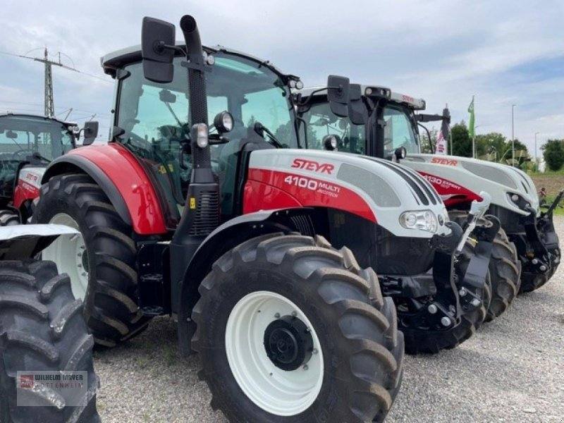 Traktor типа Steyr MULTI 4100, Neumaschine в Gottenheim (Фотография 1)