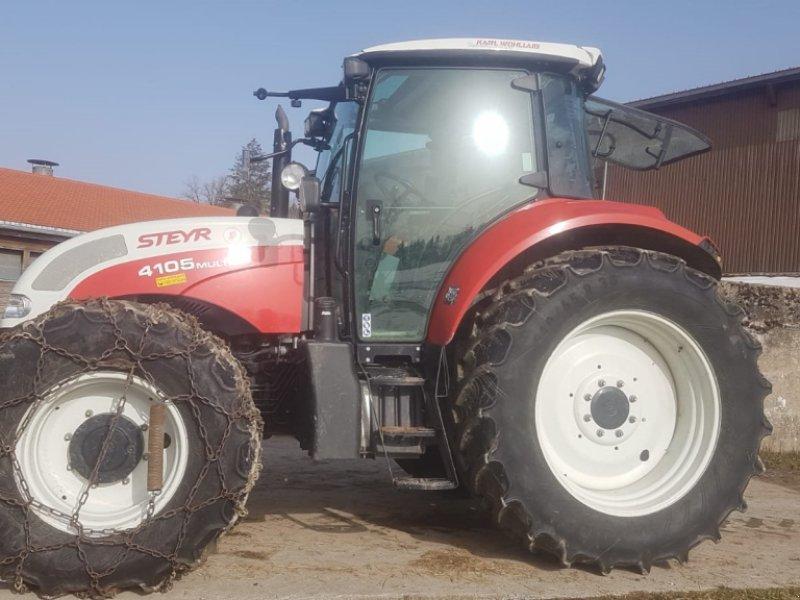 Traktor des Typs Steyr Multi 4105, Gebrauchtmaschine in Wangen (Bild 1)