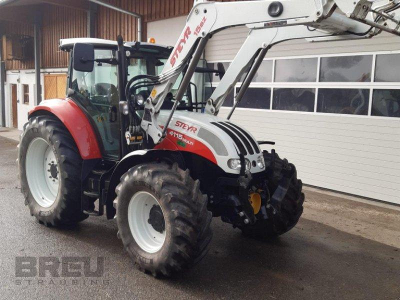Traktor типа Steyr Multi 4115 ET, Gebrauchtmaschine в Straubing (Фотография 1)