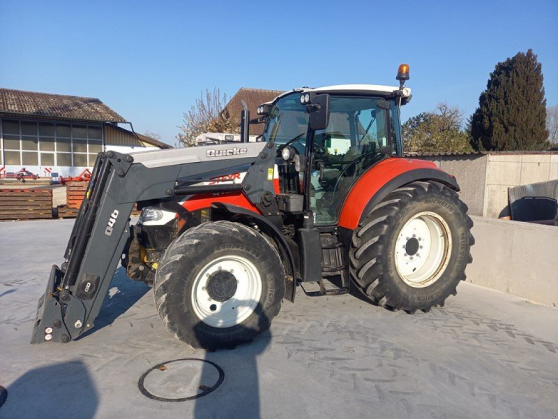 Traktor des Typs Steyr Multi 4115, Gebrauchtmaschine in Etziken (Bild 1)