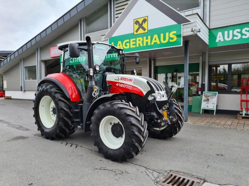 Traktor типа Steyr Multi 4120, Gebrauchtmaschine в Saalfelden (Фотография 1)